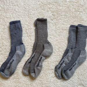 ✨Bundle✨ 3 pack Smartwool Thermal Socks XL